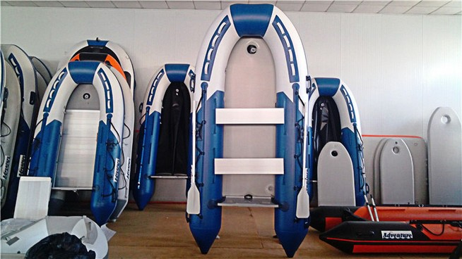 D330-B Adventure inflatable boat with Air floor